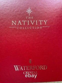 Set En Cristal 3 Pièces Waterford Contemporary Nativité, Nouveauté En Boîte & Manches Irlande