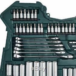 Socket Set Outils 215-piece Mannesmann M98430 Steel Vanadium Chrome Matt Finish