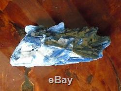 Superbe Immense Spécimen Bleu Cyanite, 4,3 Kg, Grande Pièce De Déclaration