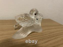Swarovski Crystal 1989 Pièce Annuelle Scs Amour Turtle Doves, Great Condition