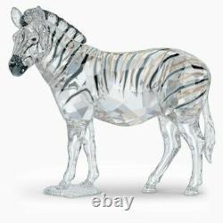 Swarovski Crystal 2021 Scs Pièce Annuelle Zebra Amai 5550663. Nouveau Dans La Boîte