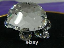 Swarovski Crystal 2 Piece Grande Tortue Et Petite Tortue 7632-045 & 030