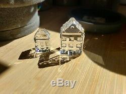 Swarovski Crystal City 10 Pièces À Bâtir Avec Boîte