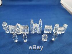 Swarovski Crystal City Planning 11 Pieces