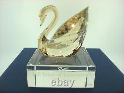 Swarovski Crystal Figurine Swan Event Piece 2015