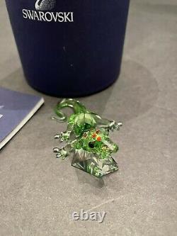 Swarovski Crystal Gecko (event Piece 2008) 0905541 Scs. Figurine De Menthe