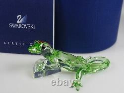 Swarovski Scs Gecko Event Piece 2008 Limited Ed. 2008 Mib #905541