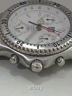 Tag Heuer Sel Chronographe Ref Cg1112 Quartz Collectible Piece Swiss 200 Meters
