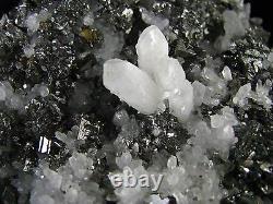 Tetrahedrites, Sphalerites, Chalcopyrites Et Quartzs Du Pérou. Pièce Maîtresse