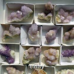 Vente En Gros Demi-plat De Cactus Spirit Quartz 14 Pièces Ccflat43