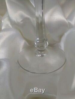 Verres À Vin En Cristal Impérial Faberge Xenia Gravés Ensemble De 4 Pièces Nib