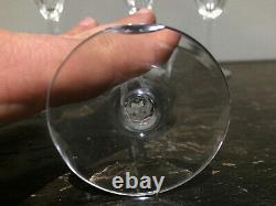 Vintage 1930's European Stemware Crystal Set 46 Pièces