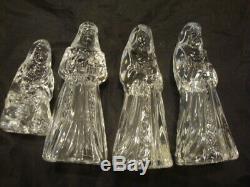 Vintage Princess House Allemagne Cristal Au Plomb 9 Piece Set Withboxes Nativity