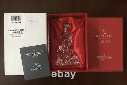 Waterford Crystal Nativity Set From The Nativity Collection 7 Piece Set
