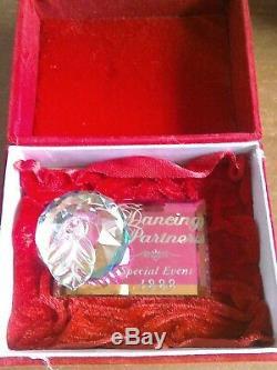Wdcc Cristal D'apple, Les Partenaires De Danse 1999 Pièce Événement Spécial