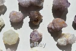 Wholesale Druzy Spirit Cactus Quartz D'afrique Du Sud 28 Pièces 1,5 KG # 6188