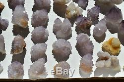 Wholesale Druzy Spirit Cactus Quartz D'afrique Du Sud 47 Pièces 1,5 KG # 4064