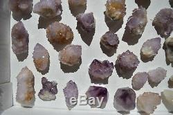 Wholesale Druzy Spirit Cactus Quartz D'afrique Du Sud 48 Pièces 1.5 KG # 6196