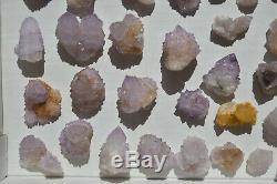 Wholesale Druzy Spirit Cactus Quartz D'afrique Du Sud 54 Pièces 1.5 KG # 4014
